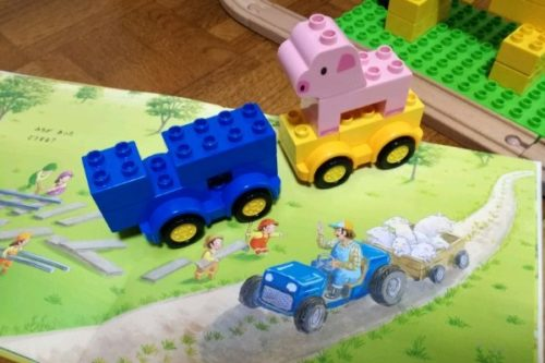 2歳 ブロック レゴデュプロ 遊び方 アイデア