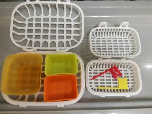 キャンドゥの食洗機用小物バスケット