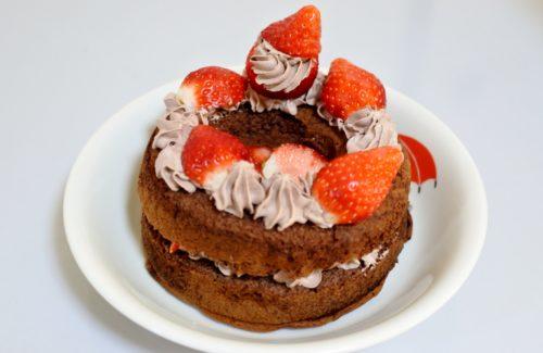 子供と作る簡単クリスマスケーキ