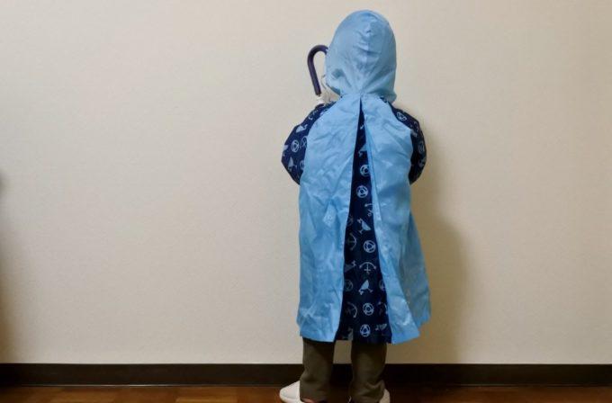 西松屋の子供用傘・レインコート