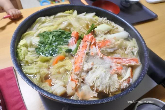 正月 蟹鍋