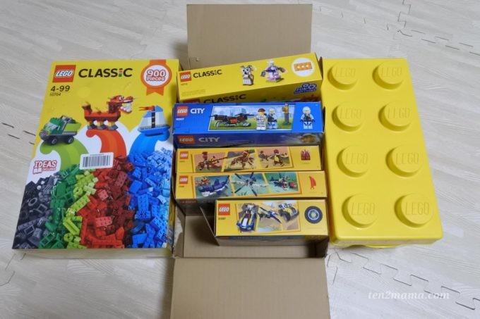 てんつまま家のレゴ収納